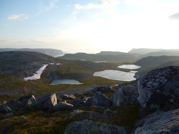 greenland landscape and lakes